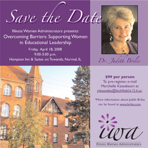Illinois Women Admin Save The Date
