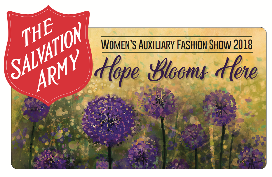The Salvation Army Hope Blooms Here Women's Auxiliary Fashion Show in Peoria, IL - Print Project